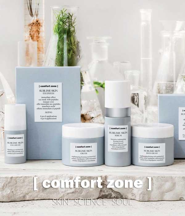 comfort zone hudvård återförsäljare